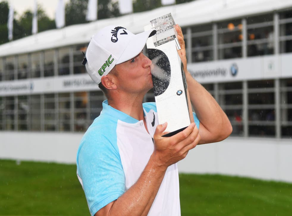 Alex Noren had a stunning final day to clinch victory