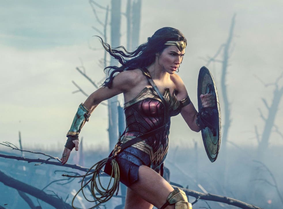 Gal Gadot is the Amazon warrior in the new 'Wonder Woman' film
