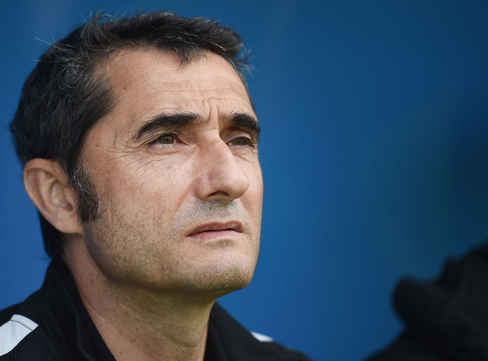 Ernesto Valverde leaves Athletic Bilbao to join Barceona