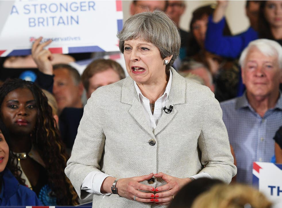 Theresa May claimed Jeremy Corbyn was unwilling to defend the UK's national security