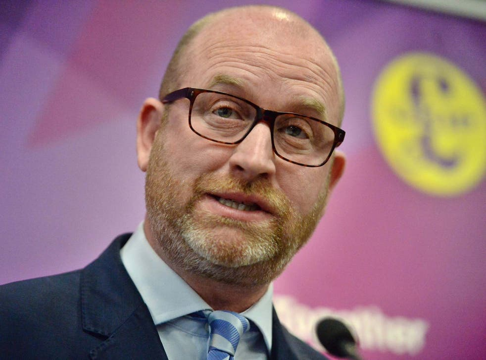 Paul Nuttall looks set to miss out on his bid to win the Boston and Skegness seat for Ukip