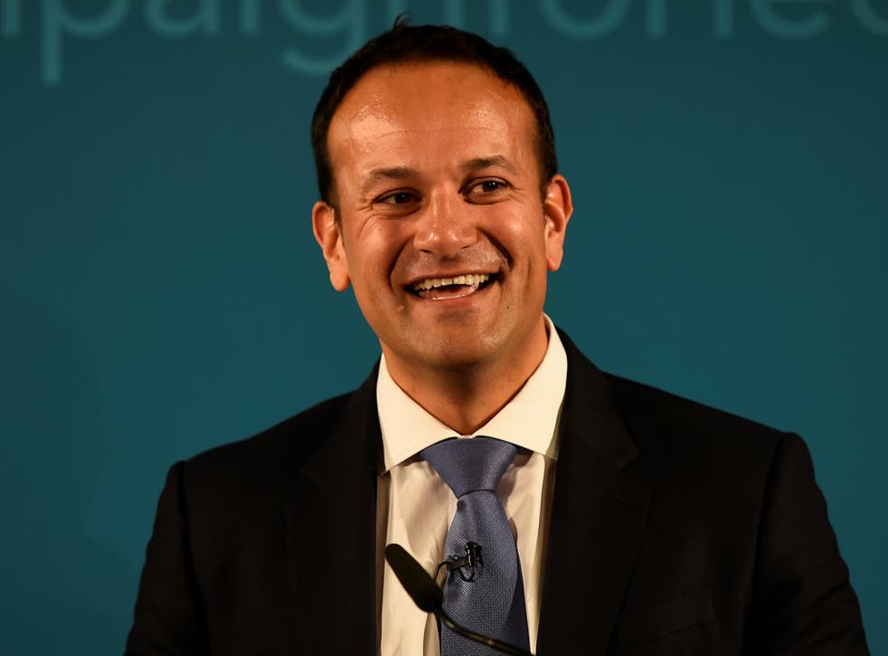 Ireland's Minister for Social Protection Leo Varadkar launches his campaign bid for Fine Gael party leader in Dublin