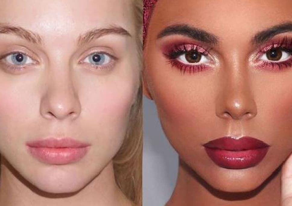 Makeup Artist Provokes Outrage By Turning White Woman Black The