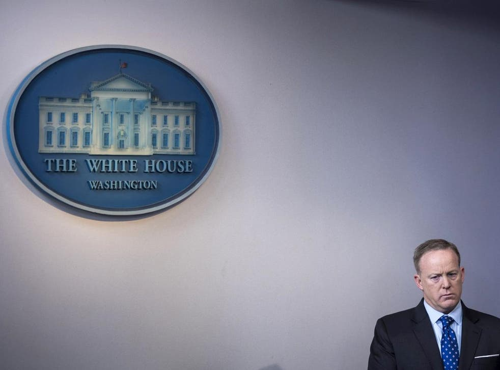 Spicer has refused to say that 'covfefe' was a typo