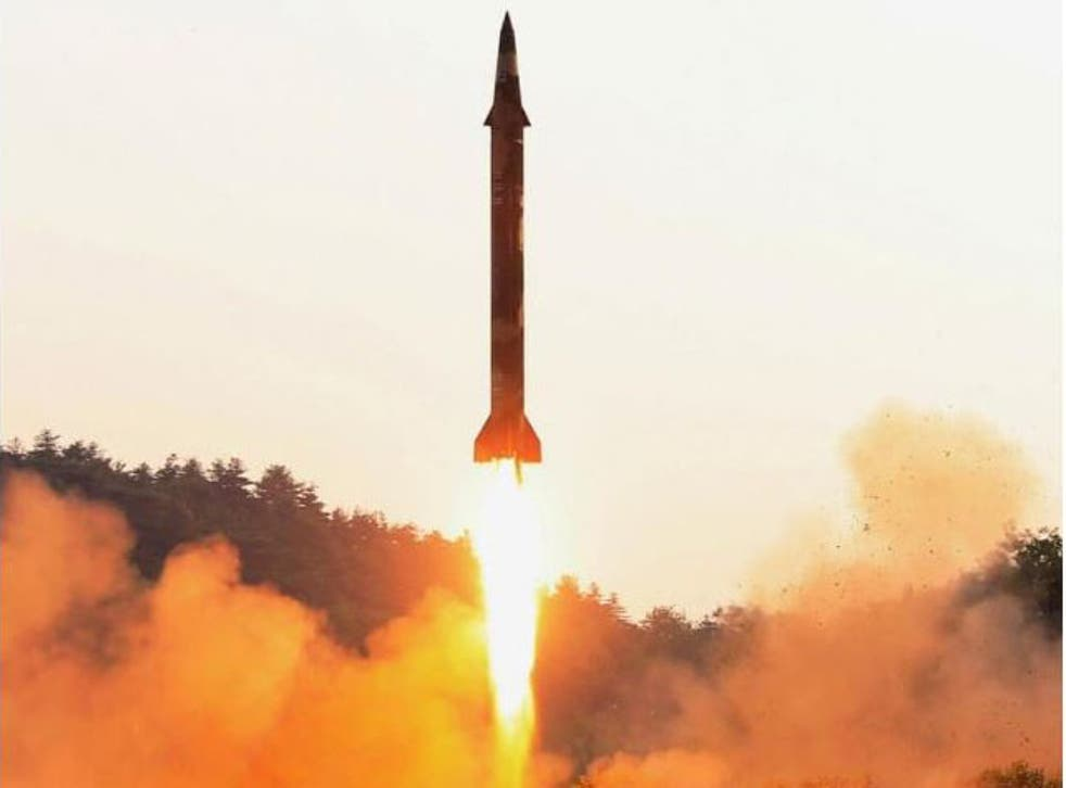 It is thought the missile's electronics were able to monitor the inside temperature and flying speed
