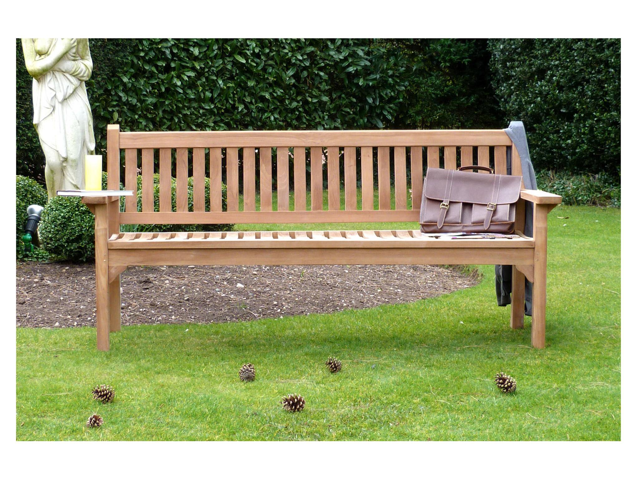 6611a9158 GardenBenches Westminster Teak Garden Bench