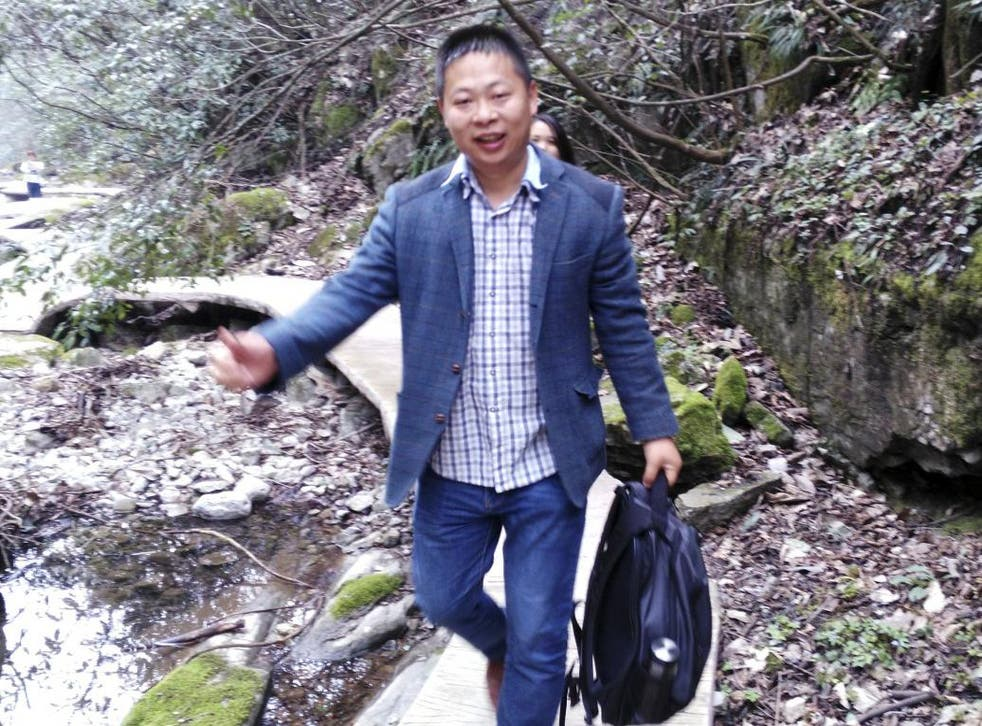 Li Zhao is one of three men involved in investigating working conditions at a Chinese factory that produces Ivanka Trump-brand shoes who have been arrested or gone missing