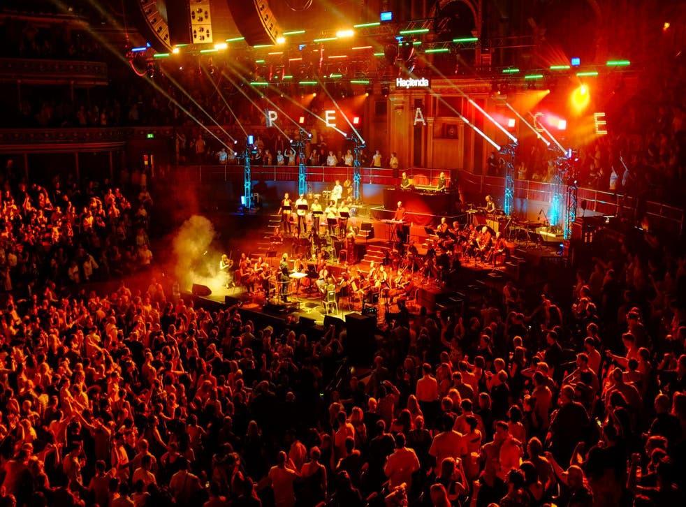 Hacienda Classical turned the Royal Albert Hall into a massive rave