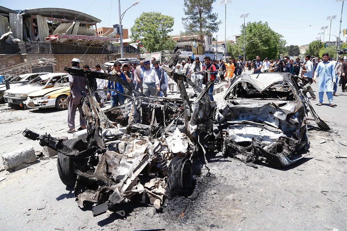 Image result for Kabul's Horrific Bomb Attack Reminds the World of the Afghan Conflict
