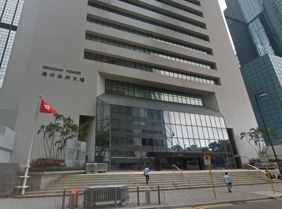 Wanchai Law Courts in Hong Kong