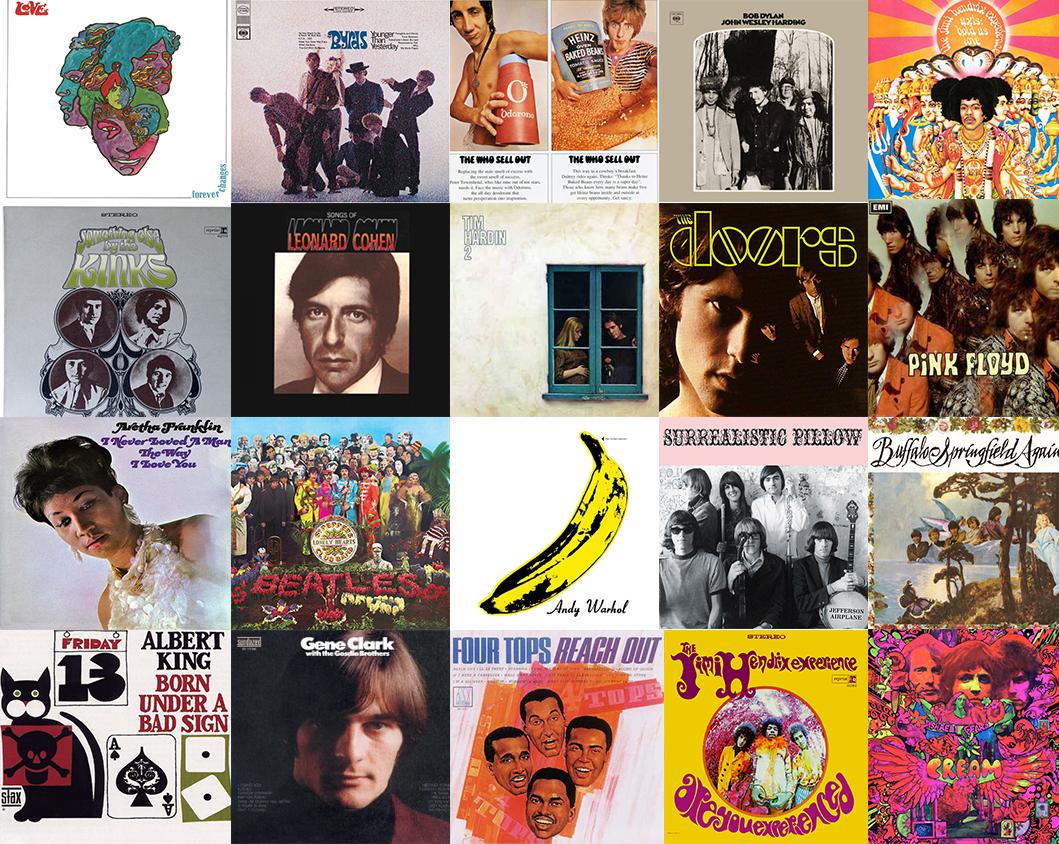 Albums: The Twenty Greatest Albums Of 1967