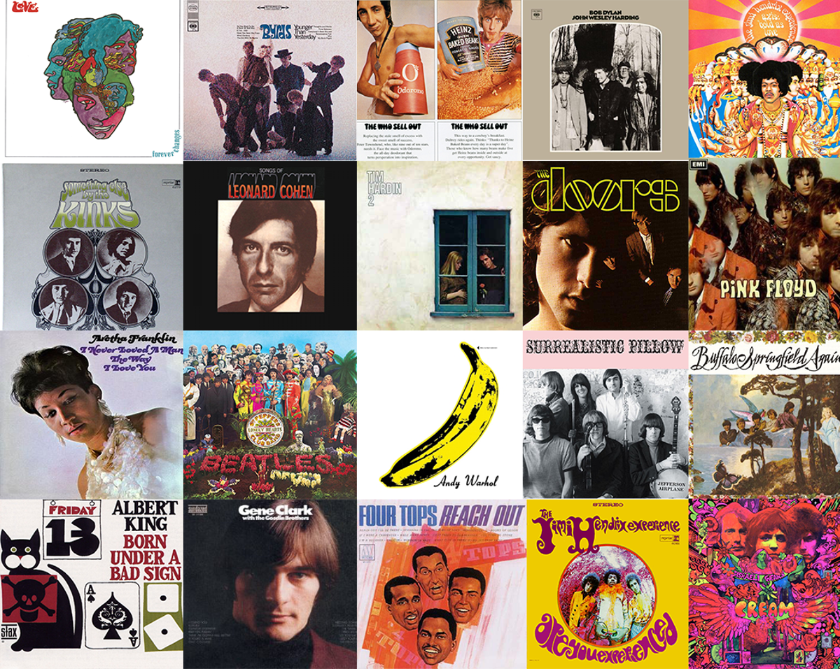 The twenty greatest albums of 1967 | The Independent | The Independent