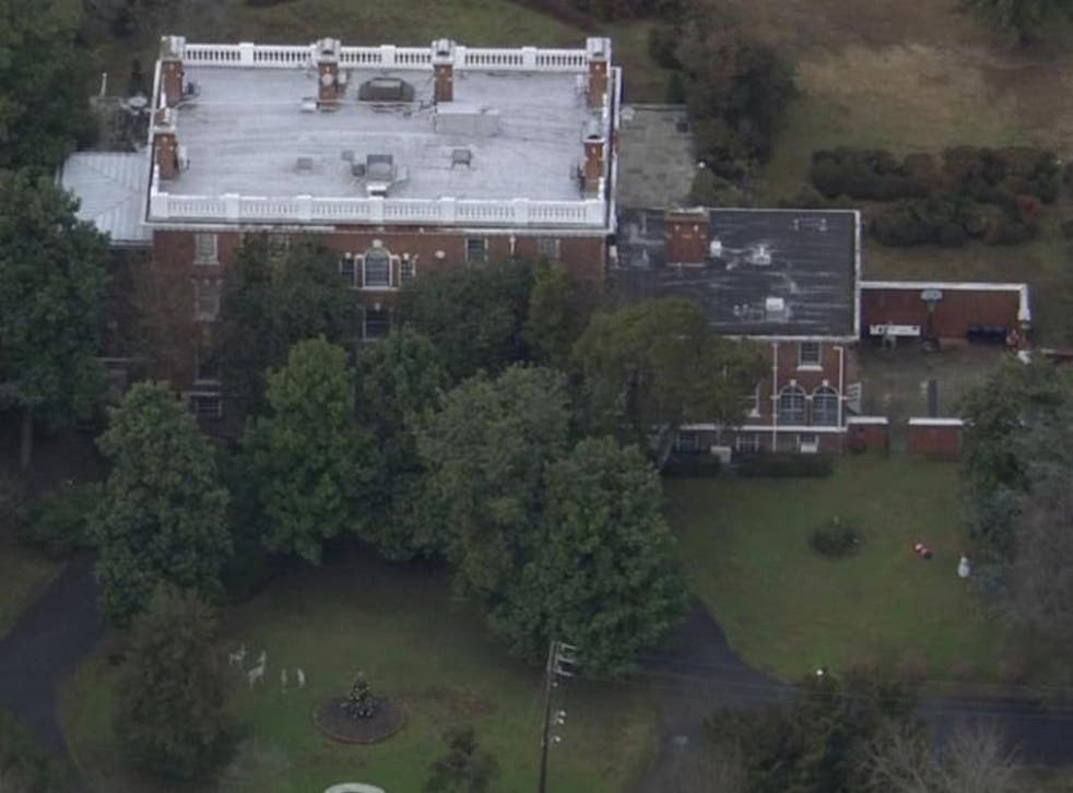 The Russian Embassy's compound near Centreville, Maryland