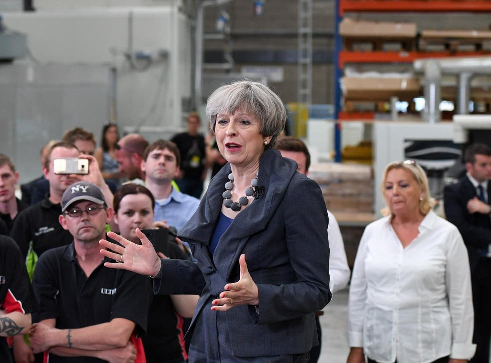 Theresa May called the election over Brexit, but has not been clear to voters about the costs of the UK's decision to leave the European Union