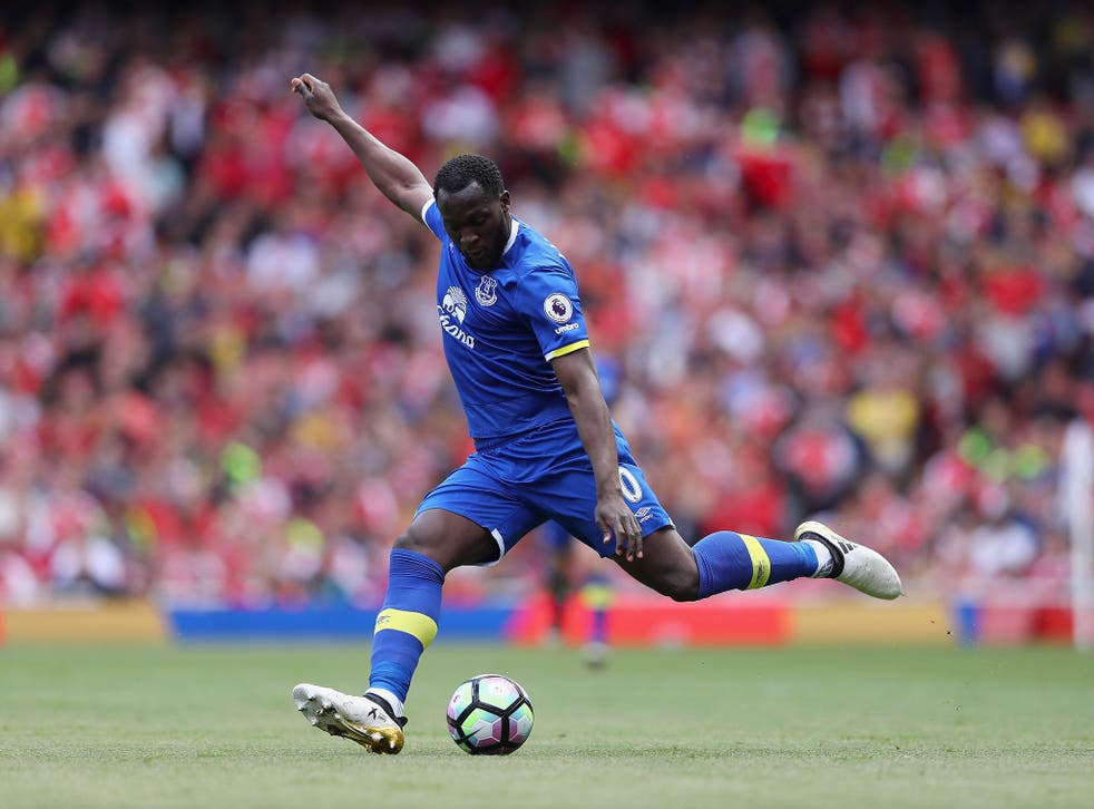 Romelu Lukaku is expected to leave Everton this summer