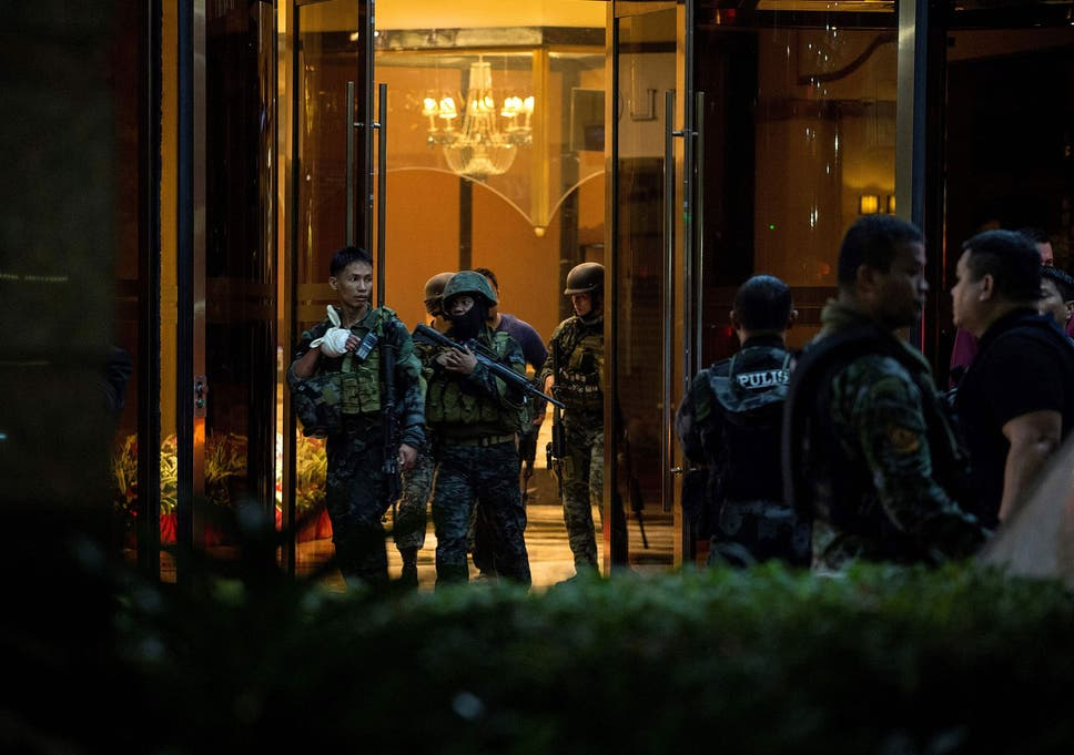 Manila casino shooting: Isis claims attack on Philippines