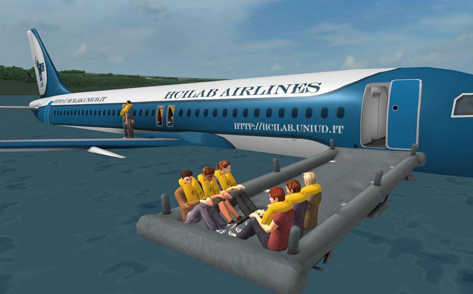 Pre Flight Safety Demonstration Interactive App Makes Boring Part