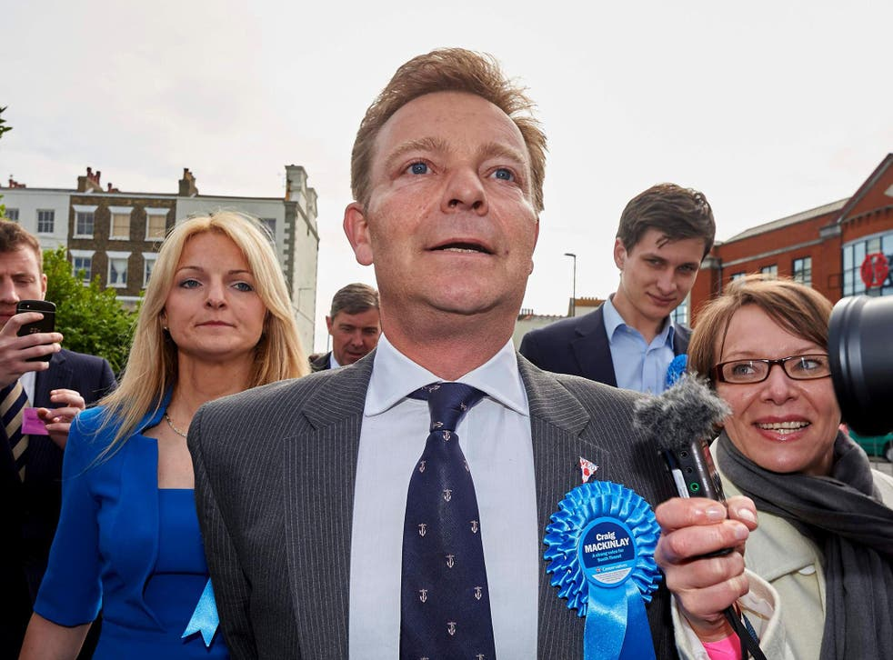 Craig Mackinlay said he is 'very disappointed' with the way his case has been handled by the the CPS and Kent Police