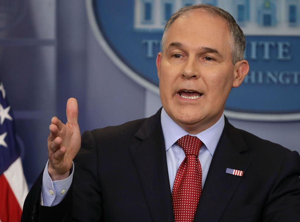 Environmental Protection Agency head Scott Pruitt said it is up to other countries to come to the negotiating table for a new global climate deal