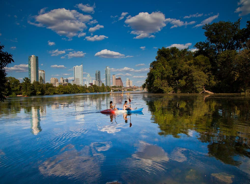 Austin, this year named the best place to live in the US, combines urban cool with outdoorsy ruggedness