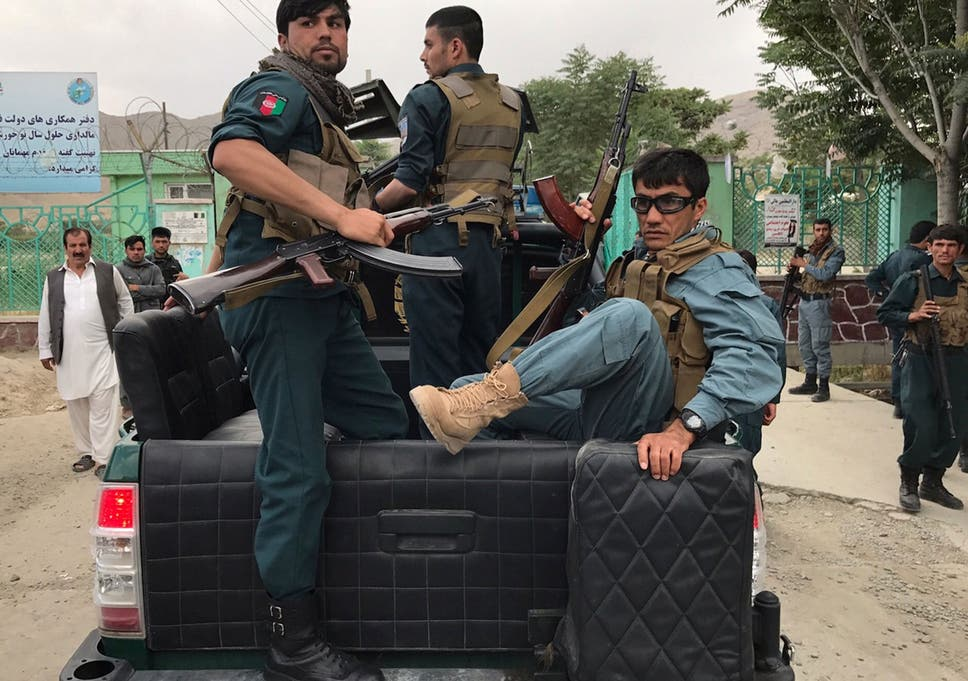 Kabul bombing: Triple suicide bombing leaves at least 12