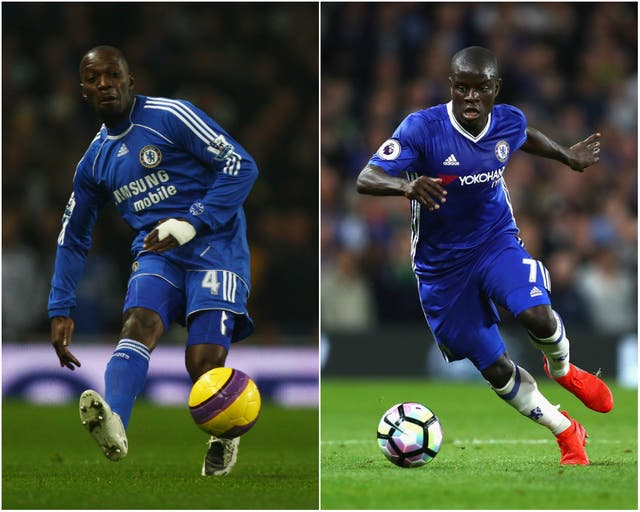 Kante has been superb in midfield for Chelsea this season