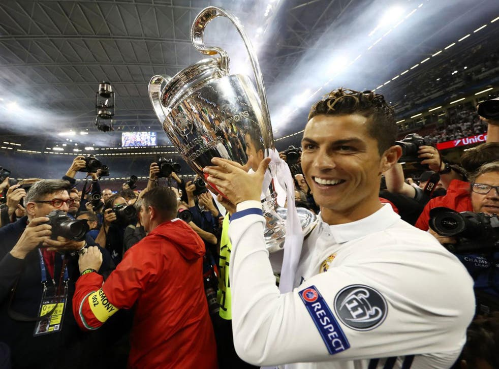 Real Madrid lifted the European Cup for the 12th time