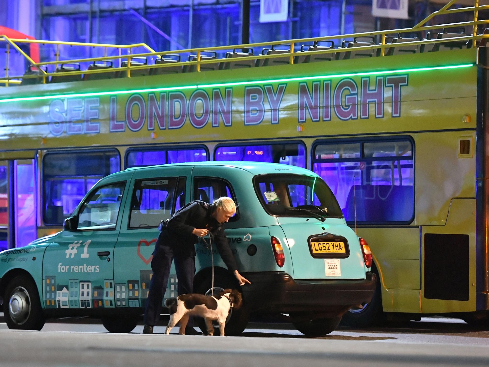 fake london cab