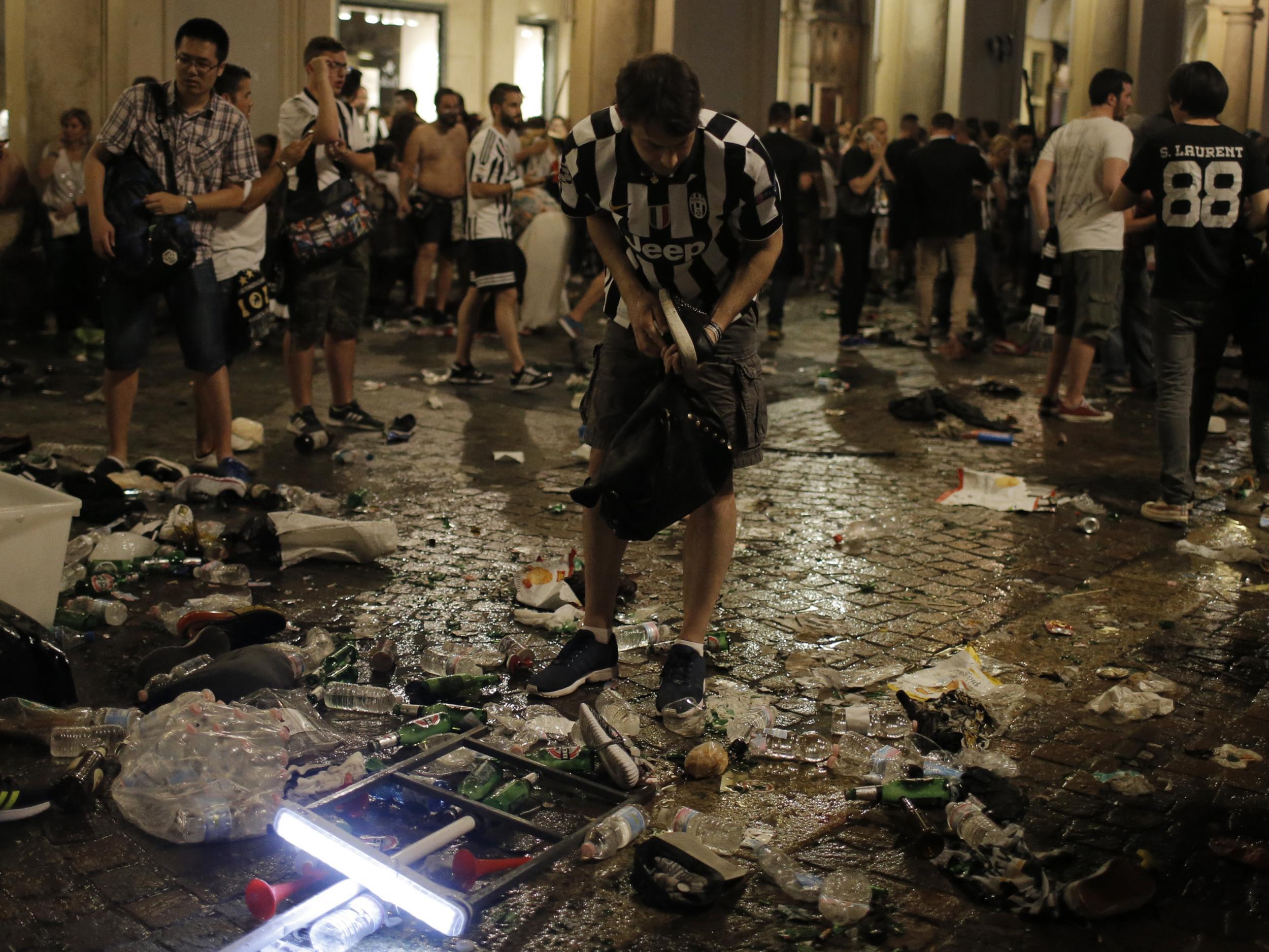 Italian police say 1,000 Juventus fans injured in Turin