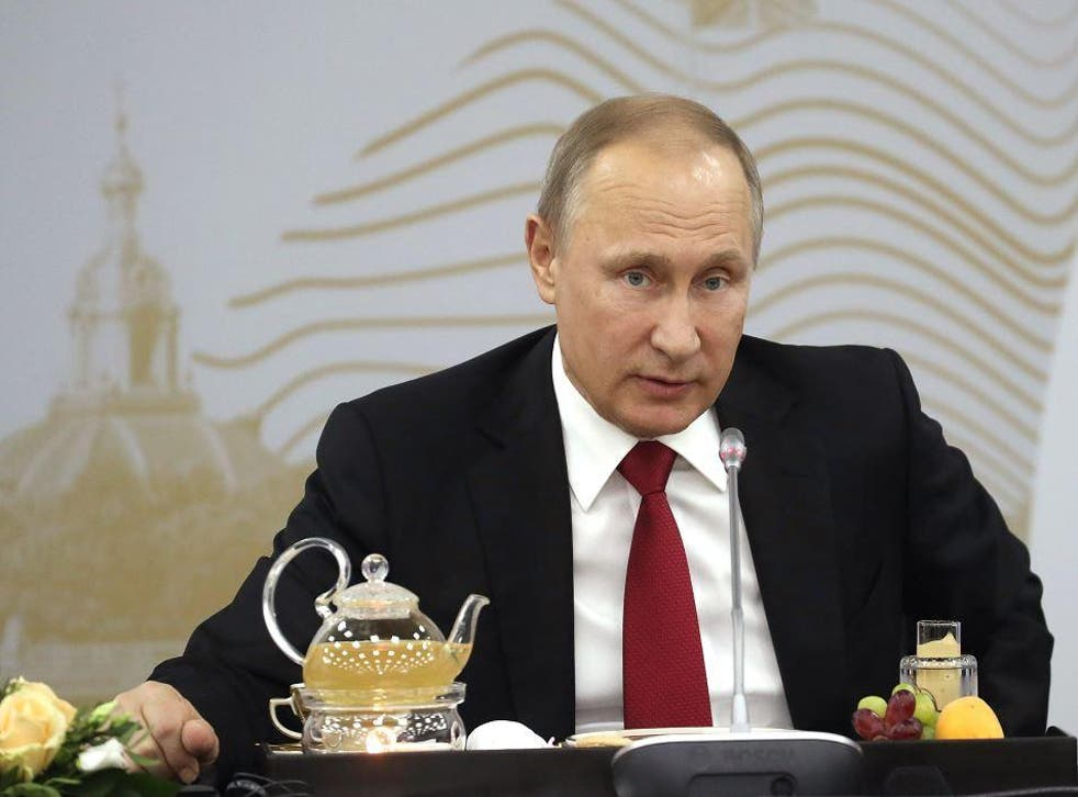 Mr Putin said last week that his government was not involved in the 2016 hacks