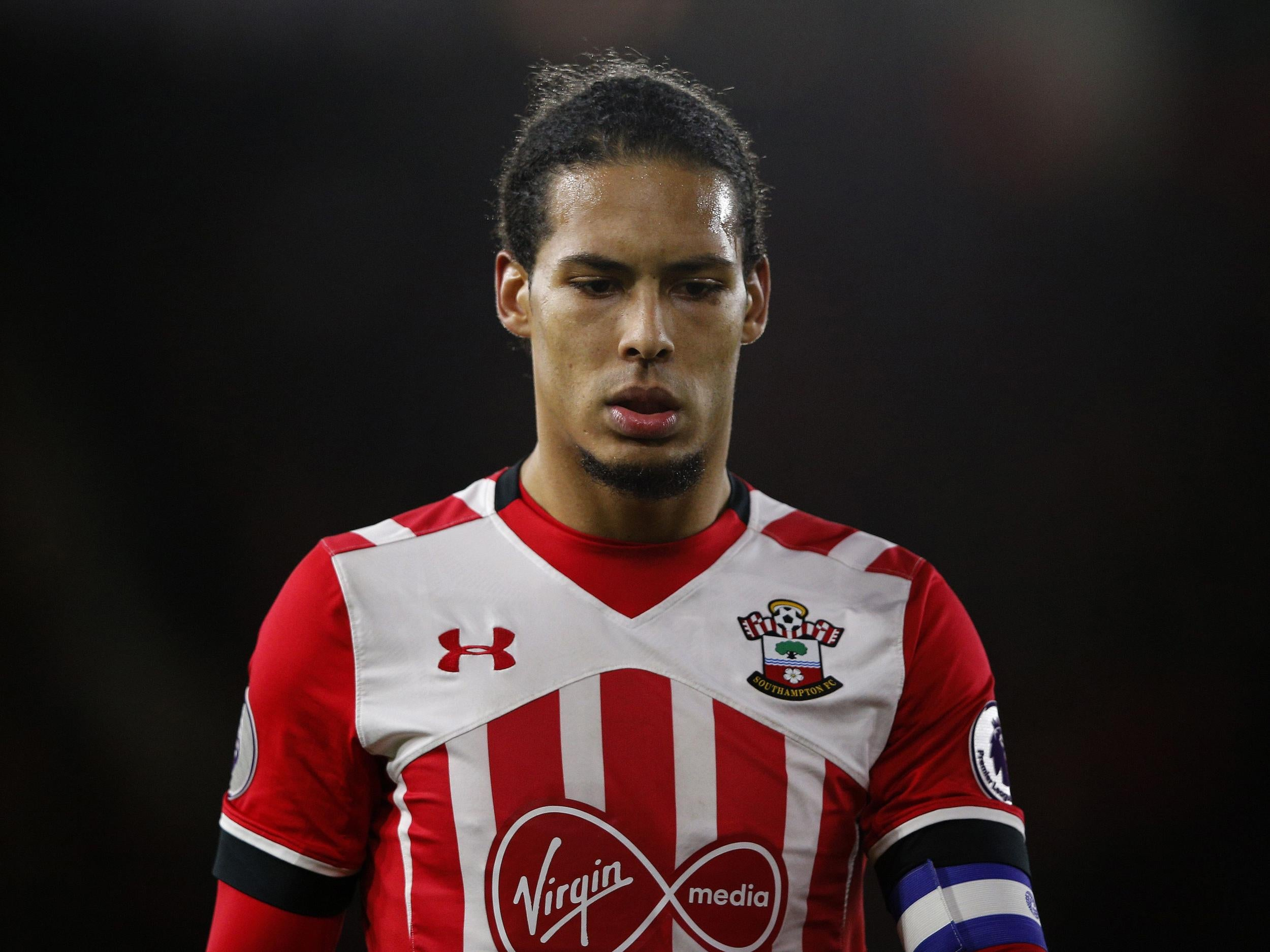 Virgil Van Dijk Hands In Transfer Request To Try Force Through Liverpool Move After Being Insulted By Southampton The Independent The Independent