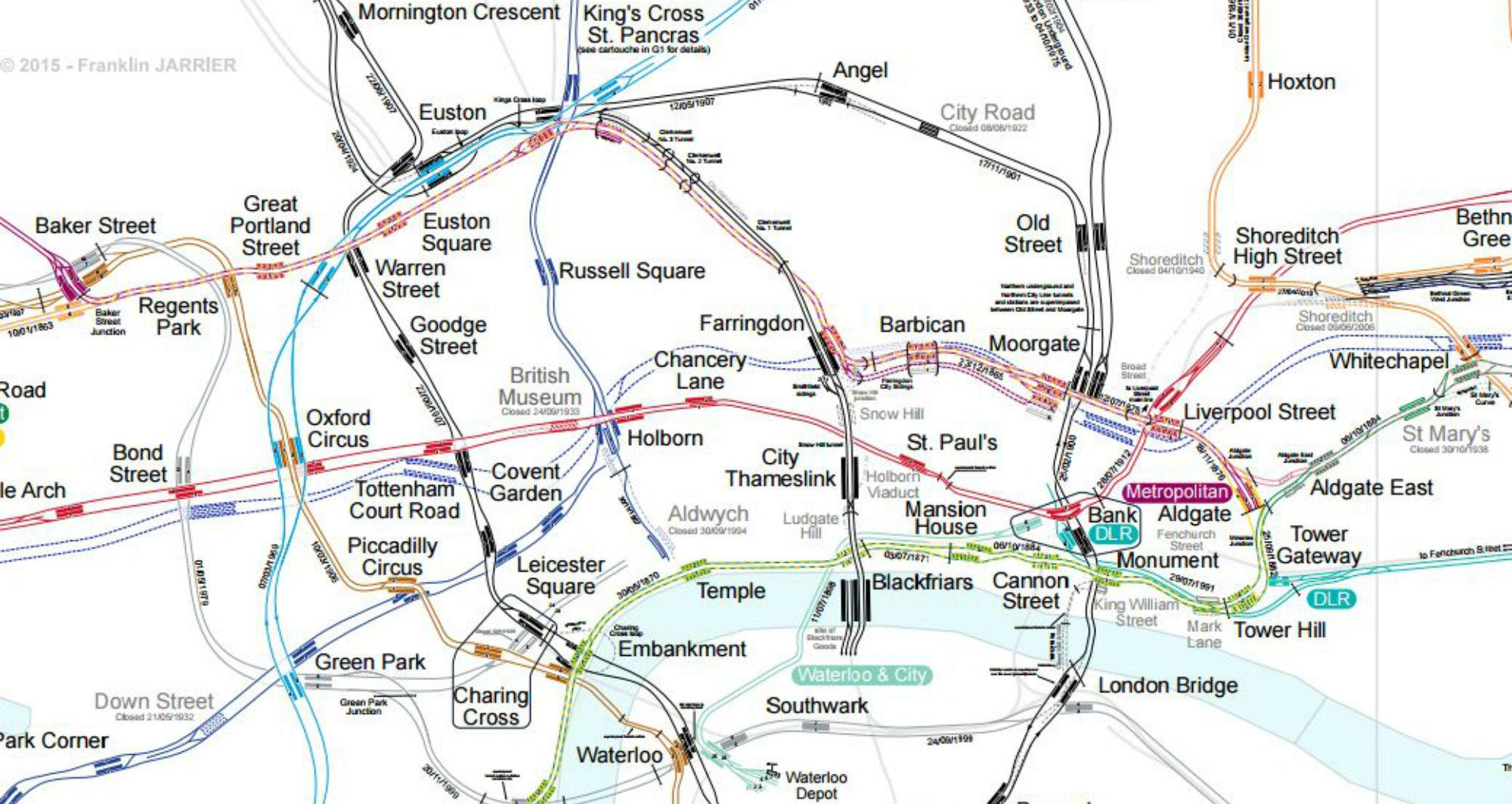 Map Of London With Underground.This Is The Ultimate London Underground Map Indy100
