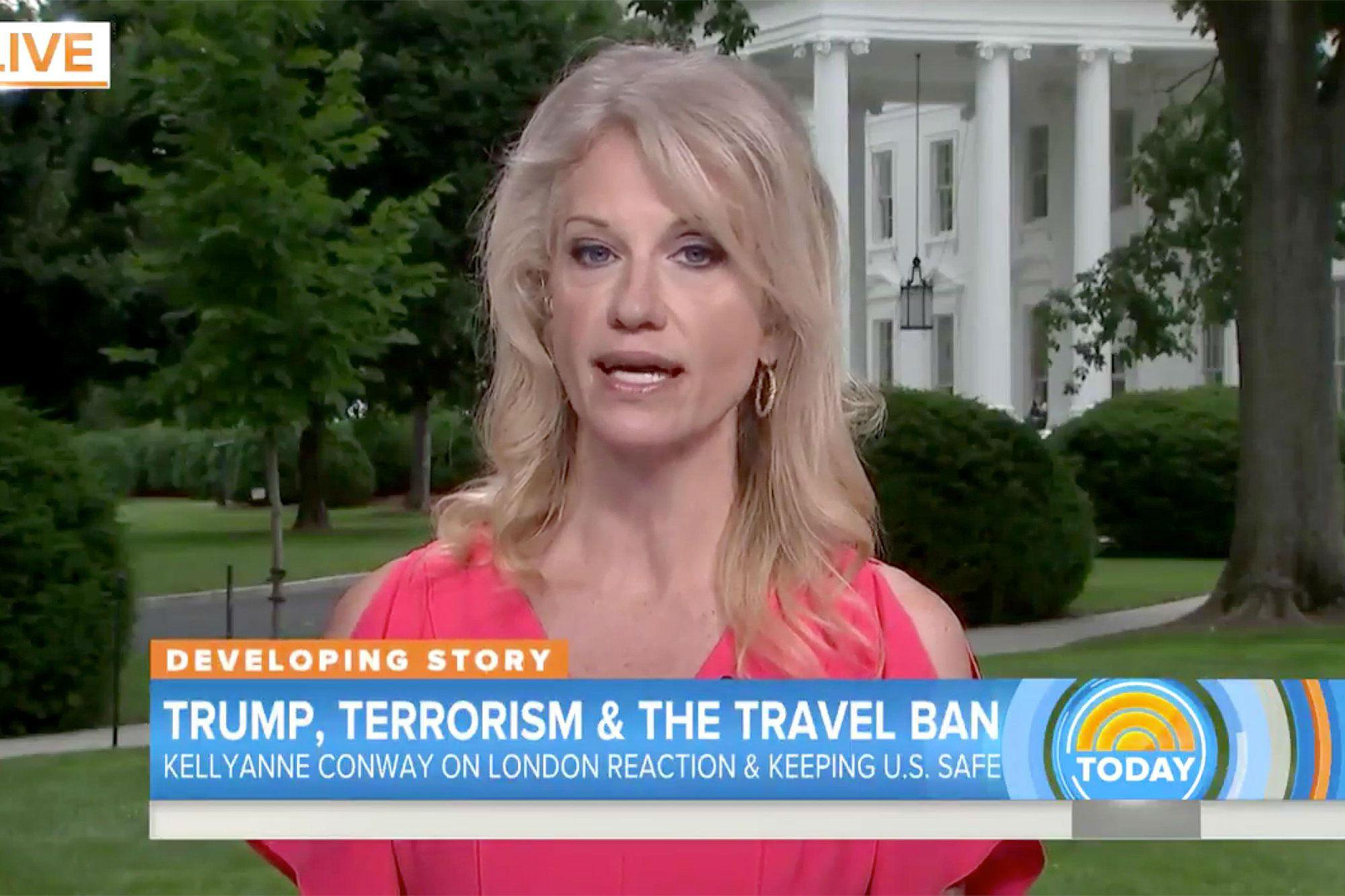 Kellyanne Conway says media is obsessed with Trump s tweets after