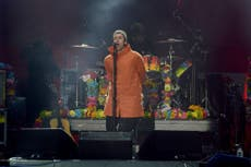 Liam Gallagher takes swipe at brother Noel after Manchester no-show