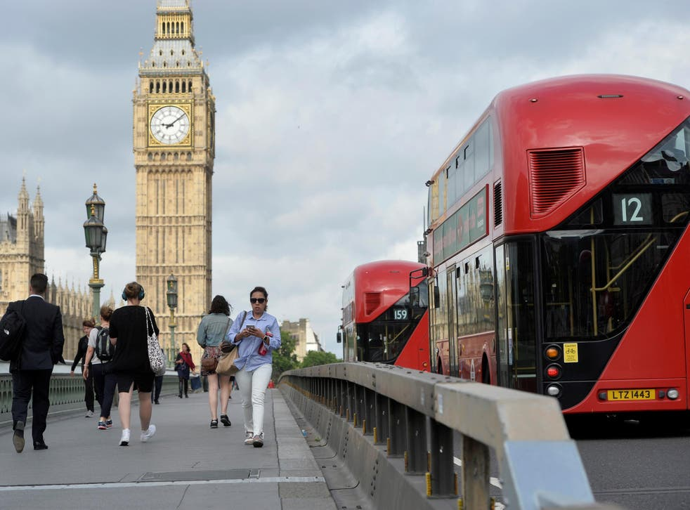 New barriers have been installed on Westminster Bridge, where 52-year-old Khalid Masood drove a car into pedestrians on 22 March