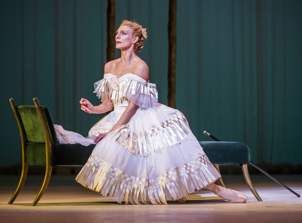 Zenaida Yanowsky as Marguerite in the Royal Ballet's Frederick Ashton mixed bill