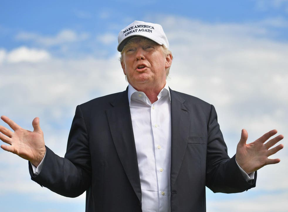 President is expected to visit one of his Scottish golf courses this month