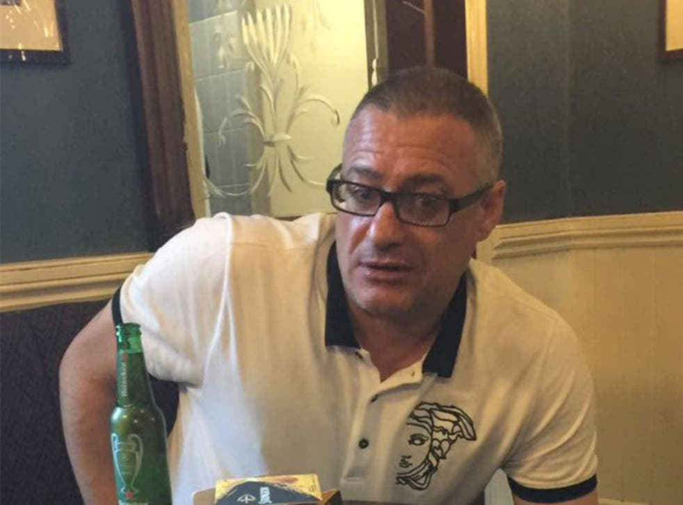 Larner fought off the three terrorists while shouting: 'F**k you I'm Millwall'