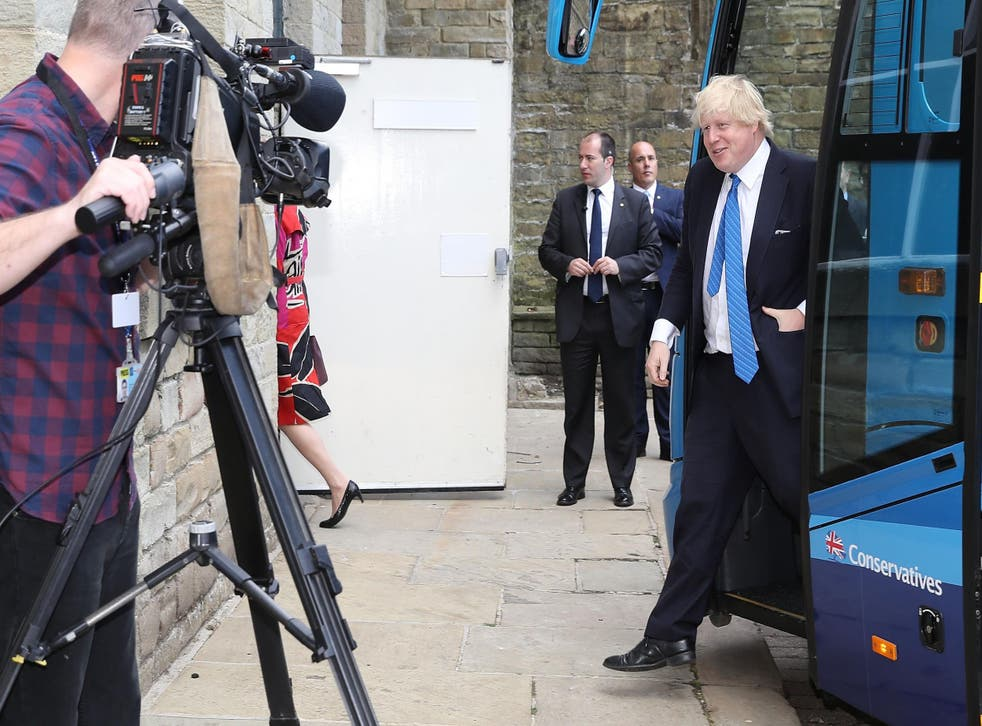 Foreign Secretary Boris Johnson would not criticize Donald Trump