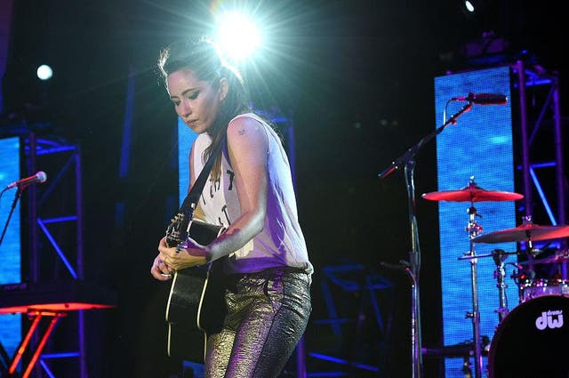 KT Tunstall performs onstage