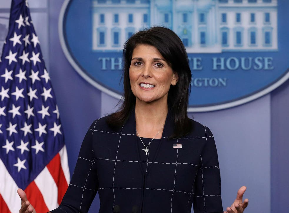 US ambassador to the UN Nikki Haley warns the Trump administration may pull out from the UN Human Rights Council