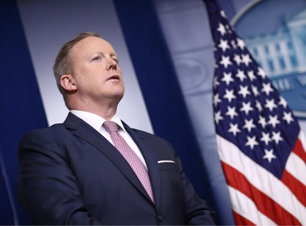 White House Press Secretary Sean Spicer said the President's tweets should be treated as official statements