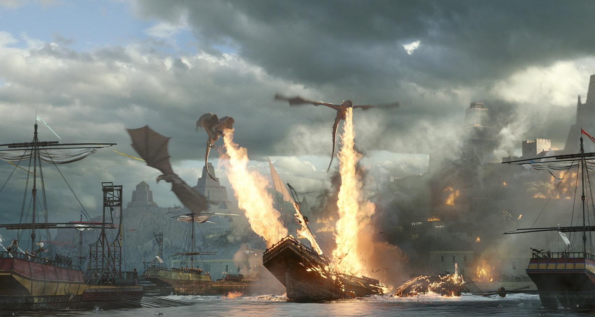 Game of Thrones season 7 breaks record for most people set on fire in a film or TV show