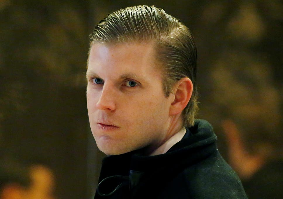 Eric Trump claims waitress who allegedly spat on him was a Democrat