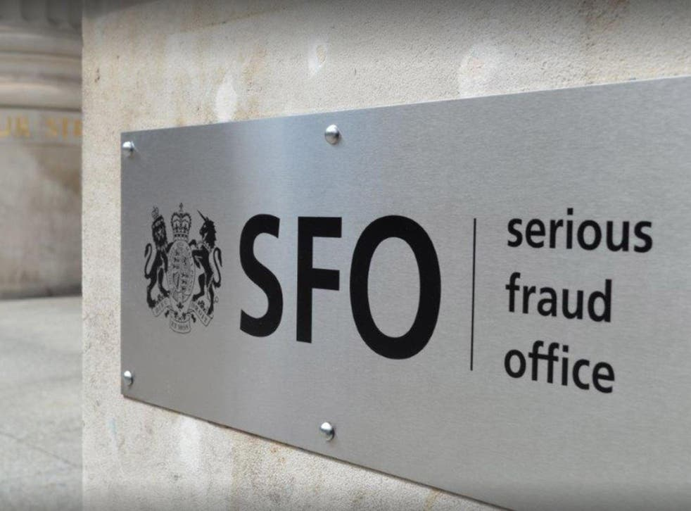 Theresa May had planned to merge the SFO with the National Crime Agency, which she created. Labour and backbench Tories have protested