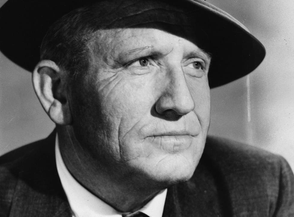 Sparks and Spencer: Tracy represented honesty and integrity, a friend, father-figure, shoulder to cry on, but nobody's pushover