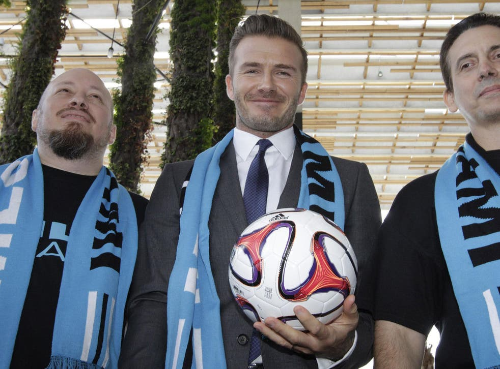 David Beckham is bidding to own a franchise in MLS