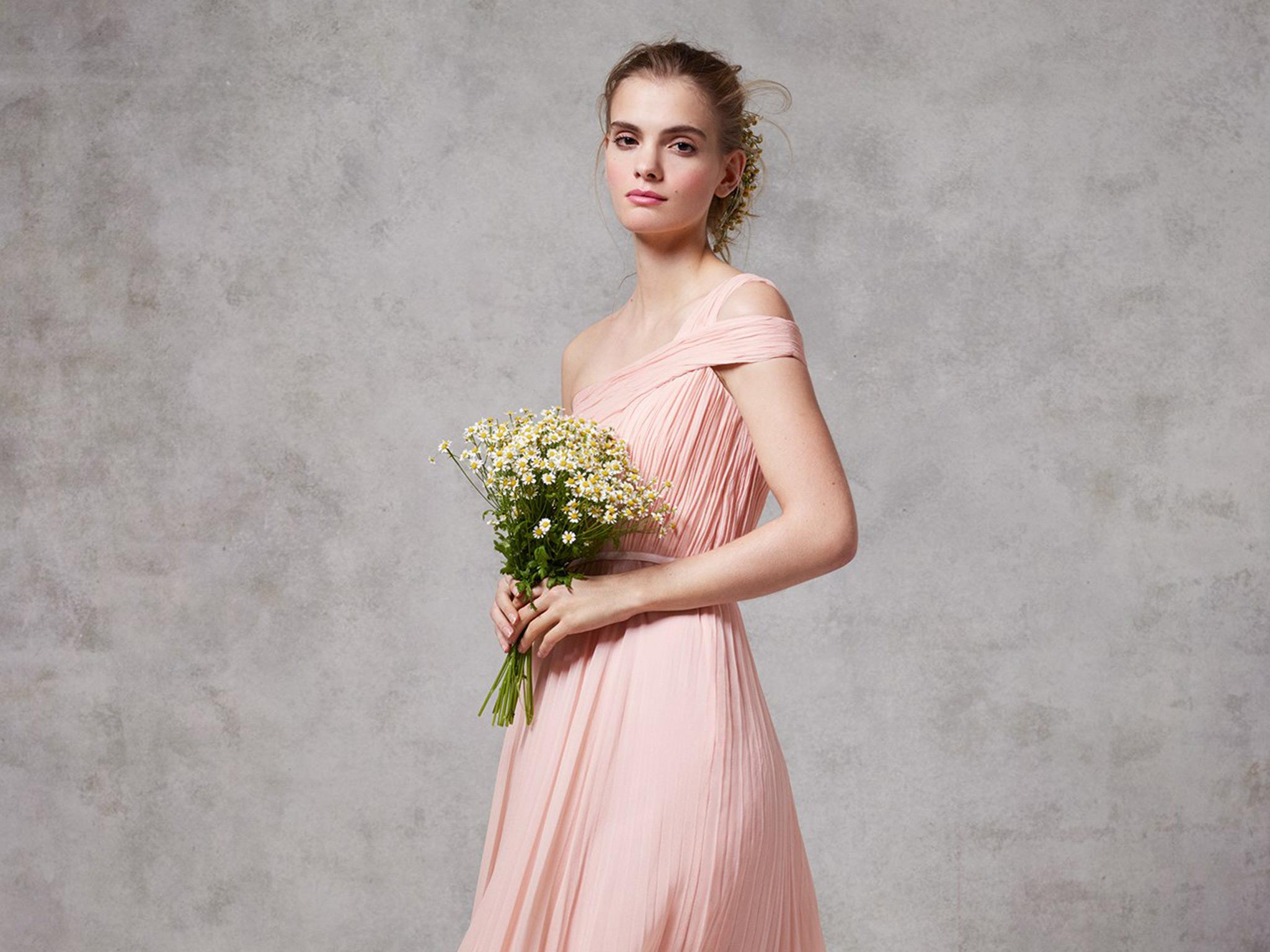 12 best brands for bridesmaid dresses the independent for Wedding dresses for larger figures