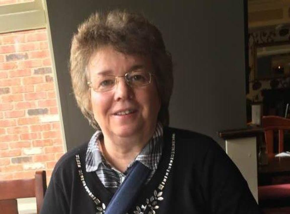 Ms Appleby, 57, developed Degenerative Arthritis and Bursitis in 2013, and was last year diagnosed with more serious condition Osteoporosis after falling and breaking her shoulder