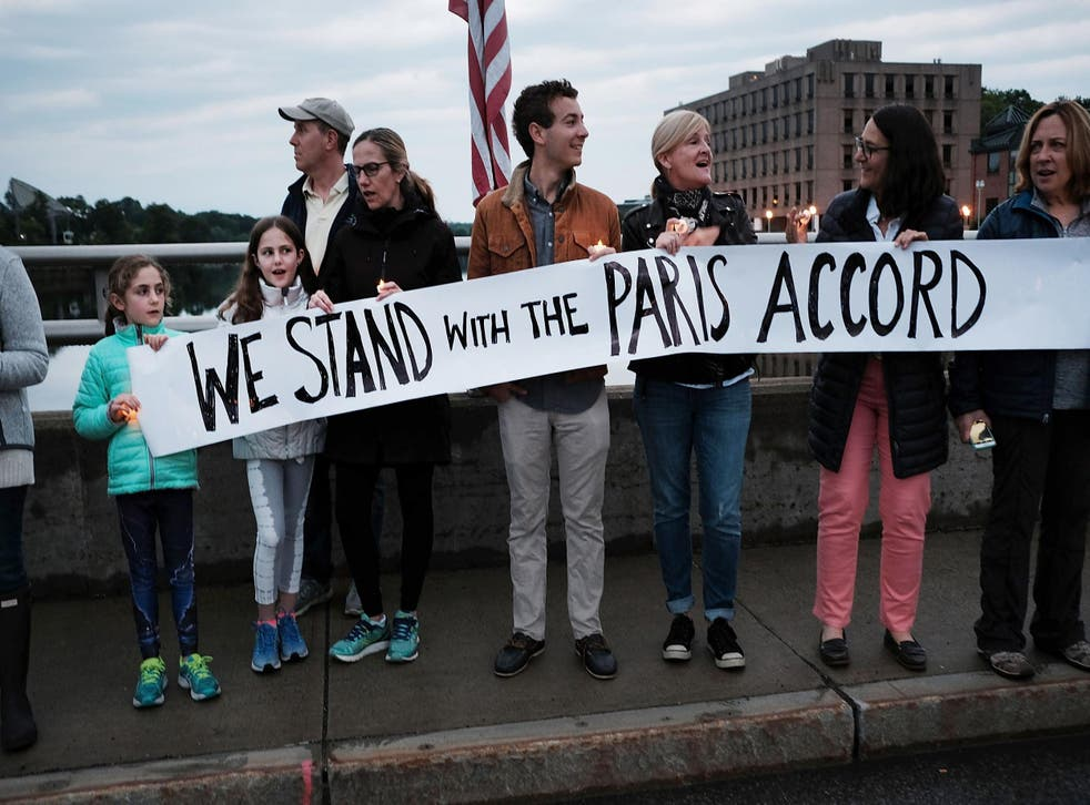 Hawaii has become the first state to codify its position to stand with the Paris accord